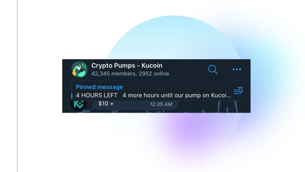 Fake PUMP Telegram Channels